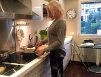 AJDA PEKKAN - Ajda Pekkan'ın mutfak pozu olay oldu