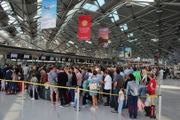 UNIVERSAL - Almanya'da Havalimanında Şaşırtan Terör Alarmı