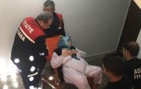 HACI SABANCI - Ameliyat Olan Yaşlı Kadını Evine İtfaiye Çıkarttı