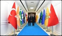 UĞUR POLAT - Başkan Polat'ta, Battalgazi'ye Hayırlı Olsun Ziyareti