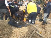 KANALİZASYON KAZISI - Başkentte Göçük Açıklaması 1 Ağır Yaralı
