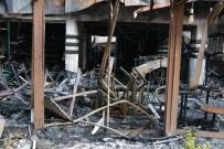 YENIÇAĞ - Binayı Bir Anda Alevler Sardı
