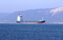 KURU YÜK GEMİSİ - Çanakkale Boğazı'nda Arızalanan Gemi Arızanın Giderilmesiyle Yoluna Devam Etti