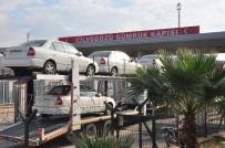 SINIR KAPISI - Cilvegözü Sınır Kapısı'ndan Ticari Ve Yardım Tırlarının Çıkışı Sürüyor