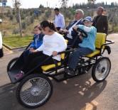 DOWN SENDROMU - Down Sendromlu Ve İşitme Engelli Çocuklarla Mutluluğa Pedal Çevirdiler