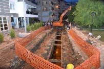 KANALİZASYON ÇALIŞMASI - Finike'ye 12 Kilometre Kanalizasyon