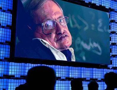 Hawking tarih verdi... Korkutan sözler: Alev topuna dönüşüp...