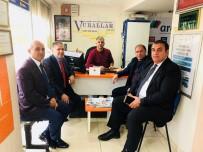 ETNİK KİMLİK - İstanbul Avrupa Yakası Ardahanlılar Derneğinden Başkan Vural'a Ziyaret