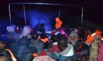 BADEMLI - İzmir'de 129 Kaçak Göçmen Yakalandı