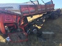 Kargı'da Trafik Kazası Açıklaması 1 Yaralı
