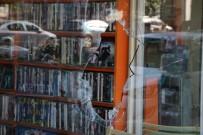 VİTRİN - MHP'li İlçe Başkanının Dükkanı Kurşunlandı
