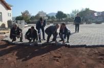 GERMIYANOĞULLARı - Okul Bahçelerinde Hummalı Çalışma