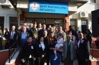 OKTAY ERDOĞAN - Ortaca'da Şehit Mustafa Ayna'nın Adı Ortaokula Verildi