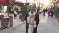 SOMUNCU BABA - Osmanlı Kıyafetleri İle Türbeleri Geziyor