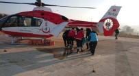 Samsun'da Yangında 1'İ Ağır 3 Kişi Hastanelik Oldu