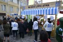 AHMET ATAÇ - Semt Pazarında 'Cam Yeniden Cam' Standı Kuruldu
