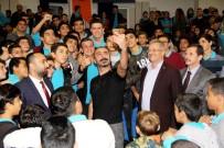 METİN YILDIZ - Tiyatro Ve Sinema Sanatçısı Metin Yıldız, MTOSB Öğrencileriyle Buluştu