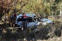 AĞIR YARALI - Tokat'ta Gece Meydana Gelen Kaza Sabah Fark Edildi Açıklaması 1 Ölü, 1 Yaralı