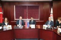 GAZIANTEP TICARET ODASı - AB Türkiye Delegasyonu Başkanı Büyükelçi Berger GTO'da
