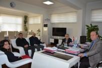 MUSTAFA ERDOĞAN - Aydın Ayakkabıcılar Arastası Esnafları Derneği'nden Başkan Özakcan'a Ziyaret