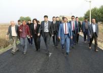 KURUDERE - Başkan Atilla Bismil'deki Yatırımları İnceledi