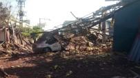 Boya Fabrikasında Patlama Açıklaması 4 Ölü, 5 Yaralı
