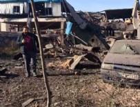 PATLAMA ANI - Bursa'da fabrikada patlama: 5 ölü