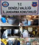 KAÇAK ŞARAP - Denizli'de Kaçak İçkiye Rekor Ceza