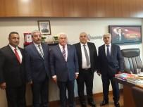 MEHMET ERDOĞAN - Gaziantep İl Ve İlçe Dernekleri Federasyon Başkanı Hasan Özaygut, TBMM'de Projeleri Anlattı