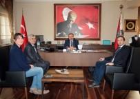 ANKARA EMNIYET MÜDÜRÜ - İHA Ve TGRT'den Ankara Emniyet Müdürü Yılmaz'a Ziyaret