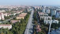 HALKALı - İstanbul'da Banliyö Hattının İlk Rayları Havadan Görüntülendi