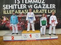 KAĞıTSPOR - Kağıtsporlu Karateciler  Sakarya'da Madalya Bırakmadı