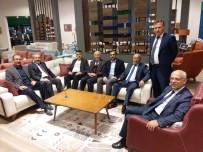 KAYSERI TICARET ODASı - KTO Başkanı Mahmut Hiçyılmaz İstanbul Mobilya Fuarı'nı Ziyaret Etti
