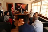 MEHMET NURİ ÇETİN - Memurlardan Kaymakam Çetin'e Ziyaret