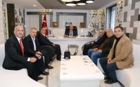 MEHMET YıLDıRıM - Muhalefet Parti Başkanları Başkan Kutlu'yla Bir Araya Geldi