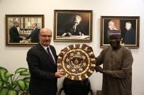 KARAOĞLAN - Nijerya Büyükelçisi'nden ATO'ya Ziyaret