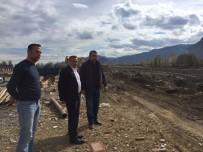DERE YATAĞI - Seydişehir'de Akçay Deresi Islah Çalışması Sürüyor