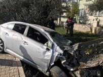 ALTıNOLUK - Takla Atan Araçtan Fırlayan Sürücü Hayatını Kaybetti