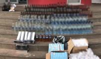 İÇKİ ŞİŞESİ - Adana'da Sahte İçki Operasyonu