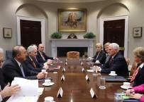 SERDAR KıLıÇ - Başbakan Yıldırım, ABD Başkan Yardımcısı Pence İle Bir Araya Geldi