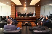 MUHITTIN BÖCEK - Başkan Böcek, Belediye-İş Sendikasını Ağırladı