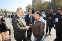 SÜLEYMAN KAMÇI - Başkan Çelik, Vali Kamçı İle Birlikte KAYTUR Tarafından Açılan Meydan Döner'i Ziyaret Etti