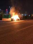 MUHSİN YAZICIOĞLU - Başkent'te Oto Yangını