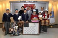 ATIK SU ARITMA TESİSİ - Çevreci Öğrenciler Ödüllerini Başkan Şirin'den Aldı