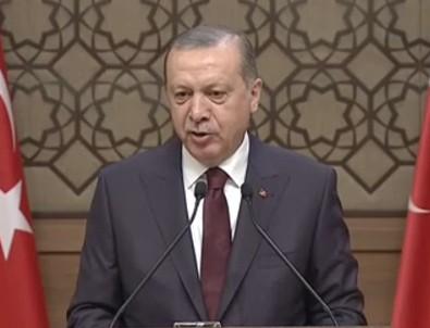 Erdoğan'dan Ankara'da gazilere yapılan saldırıya sert tepki