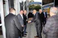 İSMAİL KARAKULLUKÇU - Emniyet Müdürü Kaya Başkan Karakullukçu'ya Ziyaret  Etti