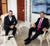 MALATYASPOR - Ertem Şener'in Başkan Ahmet Çakır İle Futbol Sohbeti