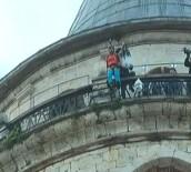 GALATA - Galata Kulesi'nden İkinci Hezarfen Atlayışı