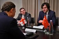TIFLIS - Gürcistan'ın Türkiye Büyükelçisine Veda Toplantısı