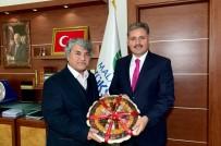 MESUT UÇAKAN - Hülya Koçyiğit Ve Mesut Uçakan'dan Başkan Çakır'a Ziyaret